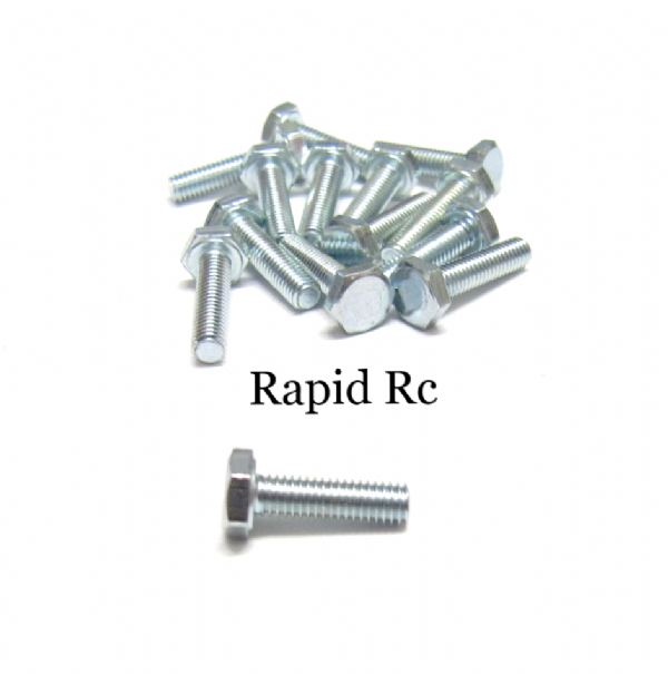 M3 x 10mm Hex Head High Tensile Hex Bolts